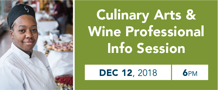 Culinary Arts and Wine Professional  Information Session