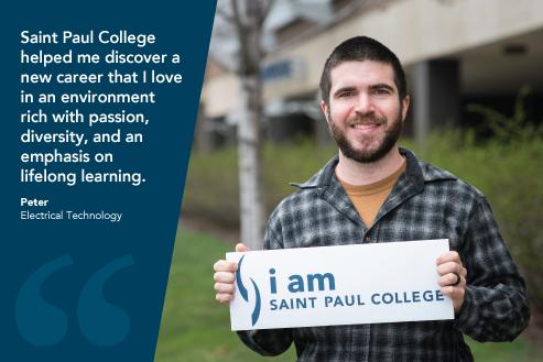 I am Saint Paul College