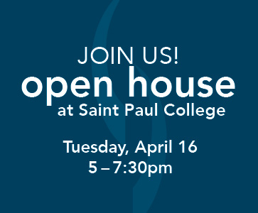 Join us! Open House at Saint Paul College
