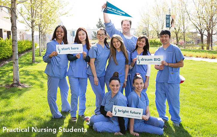 practical nursing students