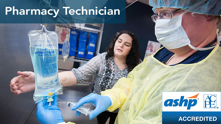 Pharmacy Technician ASHP accredited