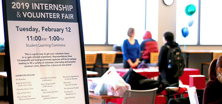 2019 internship and volunteer fair