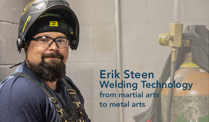 Erik Steen - Welding Technology from martil arts to metal arts
