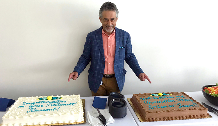 President Rassouls Retirement Party
