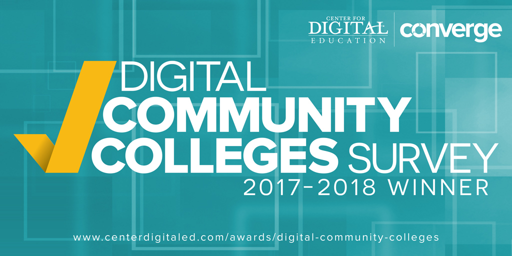 Top Ten Most Innovative Digital Community Colleges 2018 Congratulations to IT Services – Thanks for all your innovations!