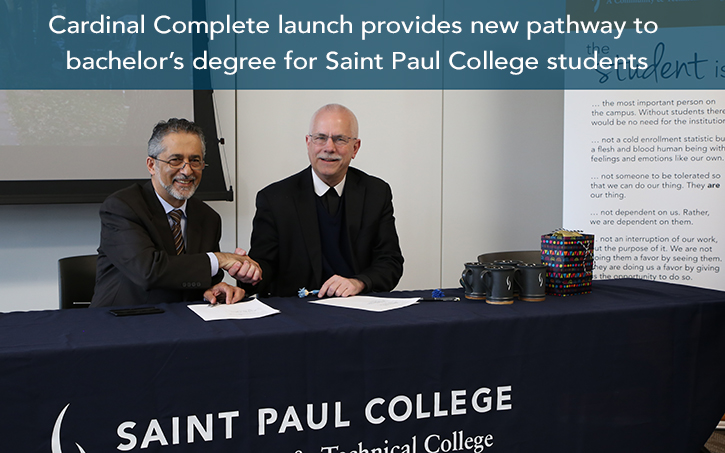 Cardinal complete launch provides new pathway to bachelors degree for spc students