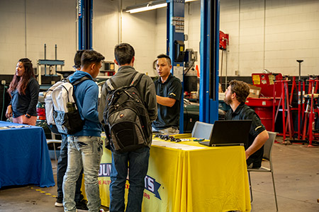 Students and local and national employers were able to meet face-to-face to talk about job opportunities Image 2