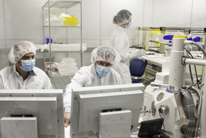 Student Cleanroom Lab Research Project