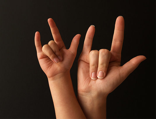 Child Development Careers - American Sign Language (ASL)